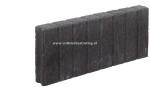 Palissadeband vierkant 6x40x50 cm Antraciet (R)