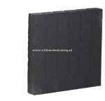 Palissadeband vierkant 8x25x50 cm Antraciet (R)