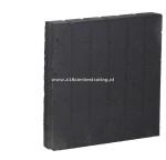 Palissadeband vierkant 8x50x50 cm Antraciet (R)