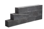 Linea Block Strak 15x15x30 cm Black MBI (R)