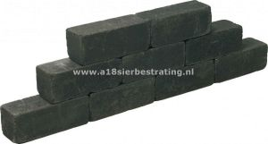 Blockstone Small 12x12x60 cm Black
