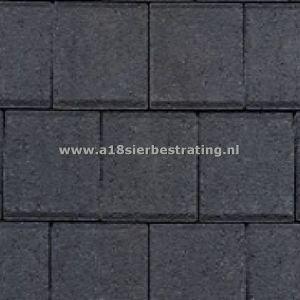Halve Betonklinkers 10,5x10,5x8 cm Antraciet
