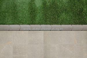 Graskantsteen 22x12x4.5 cm Grijs (per 30 stuks)