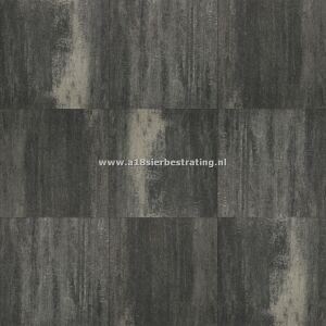 Terrasverband+ 4 cm Grijs/Zwart