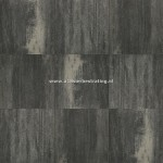 Terrastegel+ 60x60x4 cm Zwart/grijs