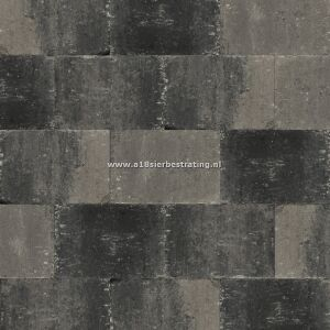 Abbeystones 20x30x6 cm Grijs/Zwart
