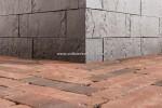 Blocco Bordano, Terra Briljant Zwart 10x10x29 cm