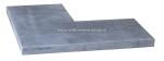 Hoek Vietnamees Blue Stone Linea 3x25x50/50 cm
