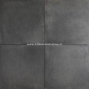 Keramische tegel Concrete Look Black 2.0 60x60x2 cm