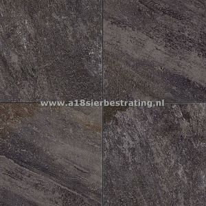Quartz Dark Grey 40x80x2 cm