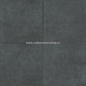 Keramische tegel Reef Stone Black 60x60x2 cm