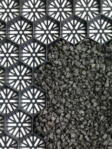 Aslon¸ split-/grindplaten 60x80x3 cm Zwart