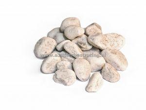Carrara Rond 80-150Mm Gaasbox 1 Pal=>1,00 Ton