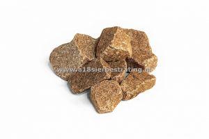 Granietbrokken Rood 100-300Mm Gaasbox 1 Pal=>0,90 Ton
