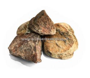 Maaskeien Bont 300-600Mm Gaasbox 1 Pal=>0,90 Ton