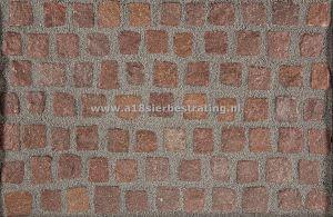 Kinderkop Ind.Granit Rood 8X10Cm Gaasbox (+/- 6 m)