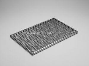 Schraaprooster tbv schoonloper 100x50cm