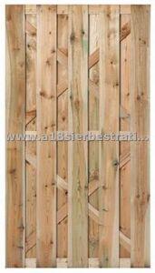 Zeist volhouten deur 180x100 cm