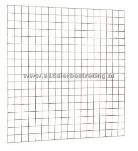 Draad gaaspaneel verzinkt stekloos 180x180cm 0,4x10x10cm