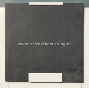 Aanbieding Keramische tegel 60x60x3 cm Unica Carbon