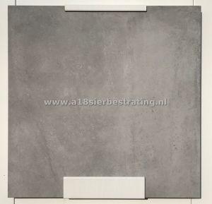 Aanbieding Keramische tegel 60x60x3 cm Unica Smoke
